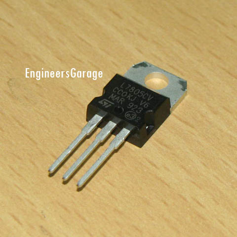 7805 Voltage Regulator IC Image