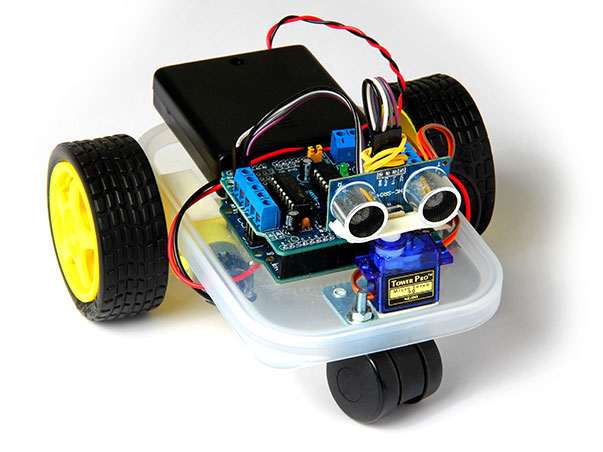 Building a Microbot based on Arduino Uno