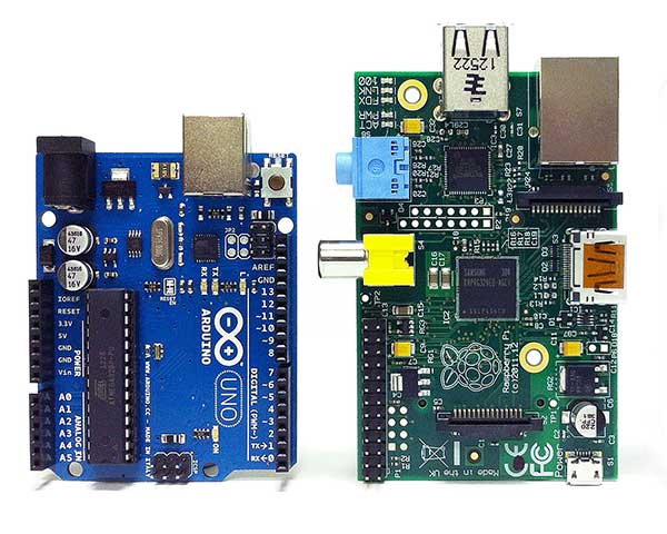 How to choose Arduino or Raspberry Pi