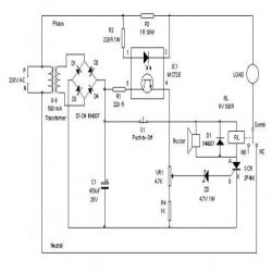 Electronic Circuit Breaker ?itok=tZVVNuCY electronic circuit breaker engineersgarage circuit breaker diagram at aneh.co