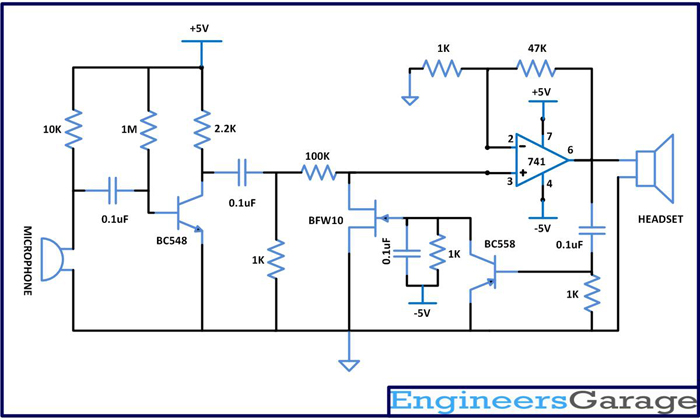 Automatic Gain Control  Project With Circuit Diagram  U0026 Code