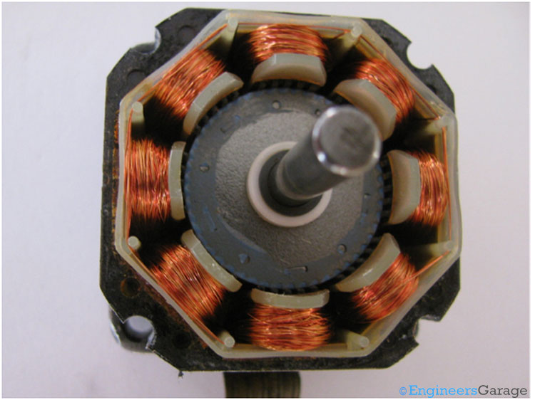 Coils of Stepper Motor