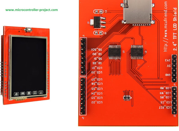 2.4 inch TFT Lcd by mcufriend