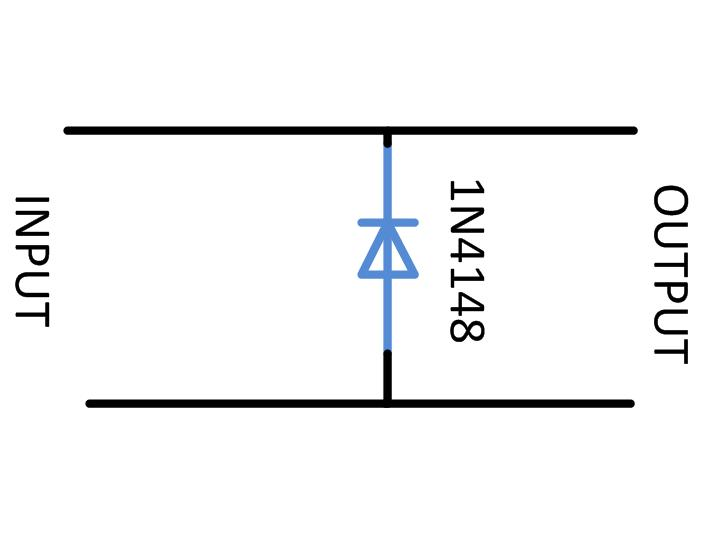 Circuit Diagram of Negative Clipper