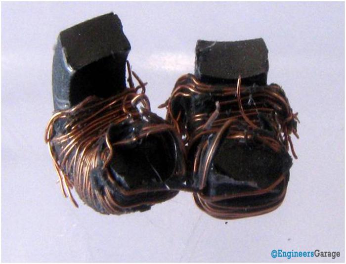 Ferrite Toroidal Core Inside A Current Transformer