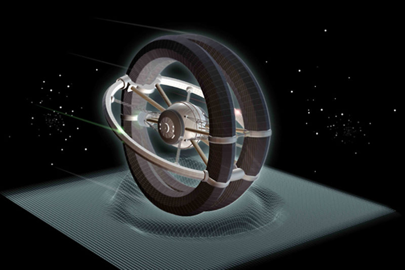 Image Showing the Alcubierre Warp Drive