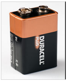 Representational Image of an Alkaline Battery