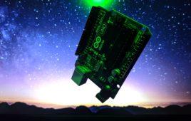 Arduino-based electronic leveling device