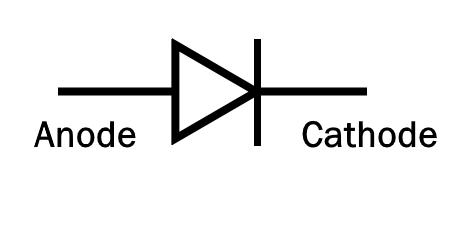 signal diode symbol